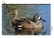 Blue Winged Teal Pair Carry-all Pouch