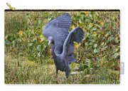 Blue Wings And Green Pond Carry-all Pouch