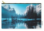 Blue Winter Fantasy. L B Carry-all Pouch