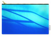 Blue Winter Shadows  Carry-all Pouch