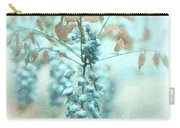 Blue Wisteria Carry-all Pouch