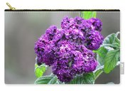Blue Wonder Heliotrope Carry-all Pouch