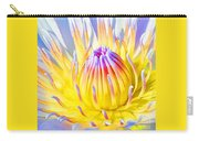 Blue Yellow Lily  Carry-all Pouch