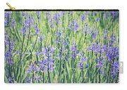 Bluebell Bluebells Flowers Blooming In Spring Carry-all Pouch