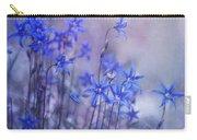 Bluebell Heaven Carry-all Pouch by Priska Wettstein