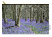 Bluebell Wood Effingham Surrey Uk Carry-all Pouch