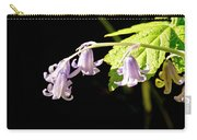 Bluebells Under The Sun Ray. Carry-all Pouch