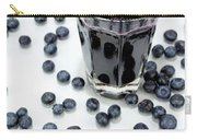 Blueberries And Blueberry Juice Carry-all Pouch