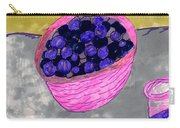 Blueberries In A Bowl Carry-all Pouch