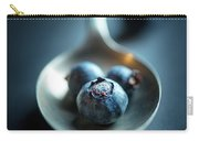 Blueberries Macro Still Life Carry-all Pouch