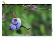 Blueberries On The Vine 4 Carry-all Pouch