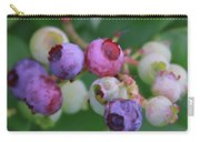 Blueberries On The Vine 5 Carry-all Pouch