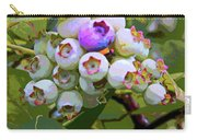 Blueberries On The Vine 7 Carry-all Pouch