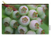 Blueberries On The Vine 9 Carry-all Pouch