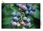 Blueberry Cluster Carry-all Pouch