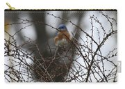 Bluebird In Briars Carry-all Pouch