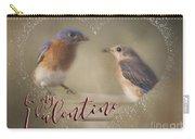 Bluebird Love Carry-all Pouch