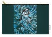 Bluebird Of Happiness Jenny Lee Discount Carry-all Pouch