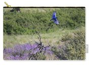 Bluebird Pair In Blickleton Carry-all Pouch