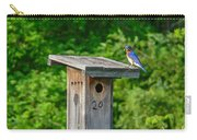 Bluebird With Grub Carry-all Pouch