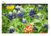 Bluebonnet Bouquet Carry-all Pouch