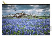 Bluebonnet Tree Carry-all Pouch