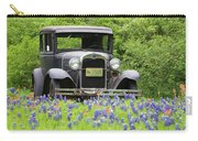 Bluebonnets And Fords Carry-all Pouch