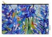 Bluebonnets Of Texas Carry-all Pouch