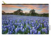 Bluebonnets On A Spring Evening 403-1 Carry-all Pouch