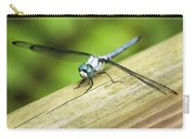Blued Eyed Darner Carry-all Pouch