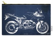 Blueprint For Men Office Decoration. R1100s Blue Background Carry-all Pouch