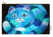 Blues Cat Carry-all Pouch