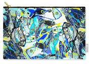 Blues Fishes Carry-all Pouch