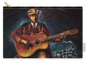 Blues Guitarist Carry-all Pouch