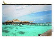 Blues In Maldivian Performance  Carry-all Pouch