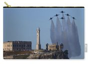 Blues Over Alcatraz Carry-all Pouch by John King