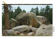Bluff Lake Ca Boulders 3 Carry-all Pouch