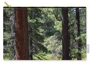 Bluff Lake Ca Through The Trees 7 Carry-all Pouch