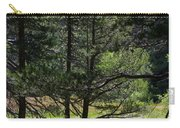Bluff Lake Ca Through The Trees 8 Carry-all Pouch