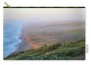 Bluffs And South Beach Point Reyes Carry-all Pouch