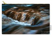 Blurred Cascades On The Autumn River Carry-all Pouch