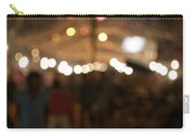 Blurred Delhi Street Scene At Night Carry-all Pouch