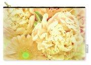 Blush Floral Bouquet Carry-all Pouch