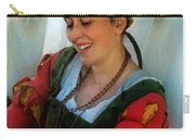 Blushing Bavarian Bridesmaid Carry-all Pouch