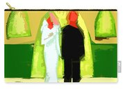 Blushing Bride And Groom 2 Carry-all Pouch by Patrick J Murphy