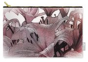 Blushing Lilies Carry-all Pouch