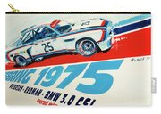 Bmw 3.0 Csl Sebring 1975 Peterson Redman Carry-all Pouch
