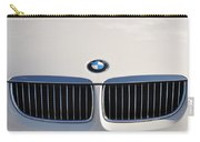 Bmw Grille White Carry-all Pouch