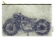 Bmw R32 - 1919 - Motorcycle Poster 1 - Automotive Art Carry-all Pouch