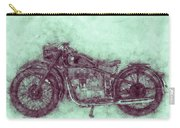 Bmw R32 - 1919 - Motorcycle Poster 3 - Automotive Art Carry-all Pouch